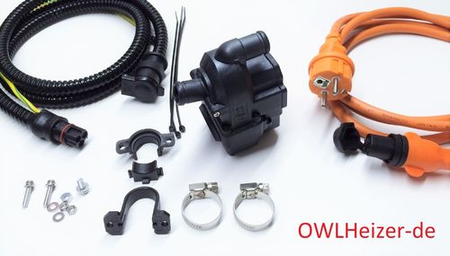OWLHeizer OWL-2S Pro with porfessional connection kit